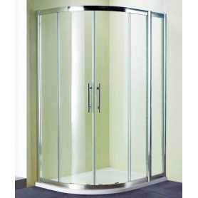 Душевой уголок 130x100 RGW Hotel HO-61 стекло прозрачное
