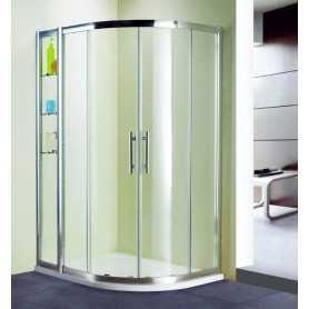Душевой уголок 130x100 RGW Hotel HO-62 стекло прозрачное