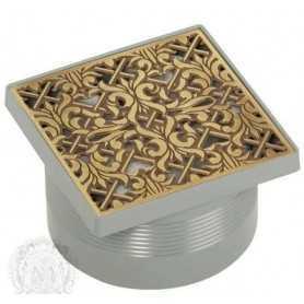 Трап для душа Migliore 10.133-Br решётка бронза