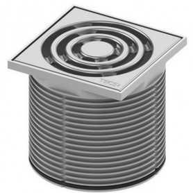 Решетка Tece drainpoint 3660001 с пластиковой рамкой 10х10