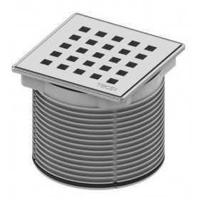Решетка Tece drainpoint 3660007 с металлической рамкой 10х10
