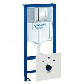 Фото Система инсталляции для унитазов Grohe Rapid SL 38775001 4
