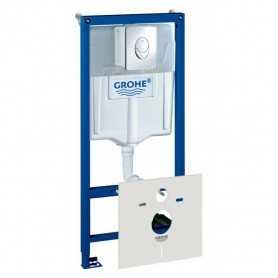 Фото Система инсталляции для унитазов Grohe Rapid SL 38750001 4