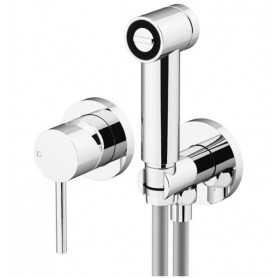 Гигиенический душ со смесителем Gattoni 2211/22C0cr хром