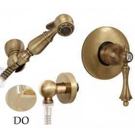 Гигиенический душ скрытого монтажа Migliore Bomond цвет золото
