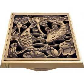 """Решетка Bronze de lux """"Рыбы"""""""
