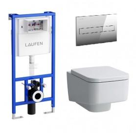 Инсталляция Laufen с унитазом Laufen Pro S 8.2096.1.000.000.1
