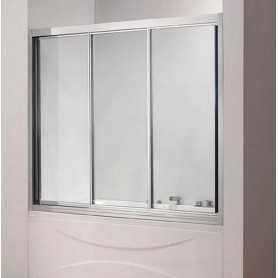 Шторка на ванну Cezares Family 150 см., стекло прозрачное