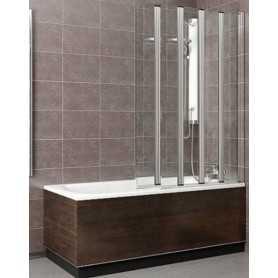 Шторка на ванну Radaway Eos PNW5 107х152 стекло прозрачное