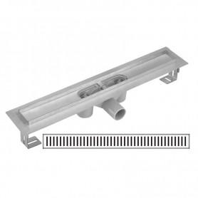 Дренажный канал Gllon GL-SDL-02A60-DA660+FA600 с решеткой