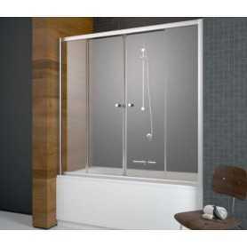 Шторка на ванну Radaway Vesta DWD 150х150 стекло матовое