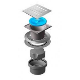 Трап водосток Pestan Confluo Standard Vertical Drops 150*150 мм