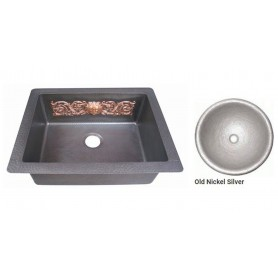 Мойка медная Bronze de Luxe 10305