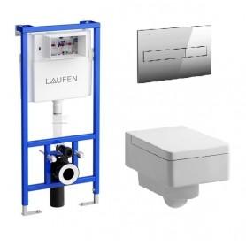 Инсталляция Laufen с унитазом Laufen Living 8.2043.5.000.000.1