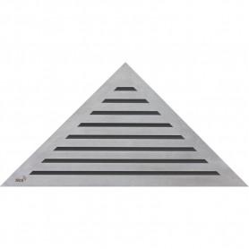 Решетка водосточная треугольная Alca Plast Life