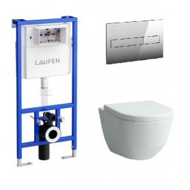 Инсталляция Laufen с унитазом Laufen Pro 8.2095.6.000.000.1