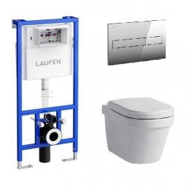 Инсталляция Laufen с унитазом Laufen LB3 8.2068.0.000.000.1
