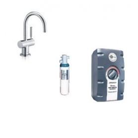 """Система мгновенного приготовления кипяченой воды Aqua Hot """"3 в"""