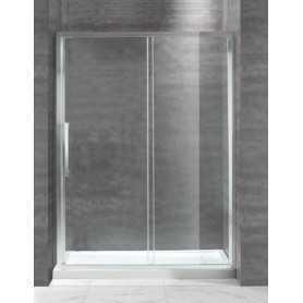 Душевая дверь Cezares Lux-Soft BF-150 см. стекло прозрачное, раздвижная