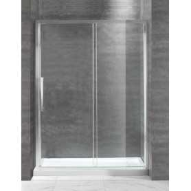 Душевая дверь Cezares Lux-Soft BF-140 см. стекло прозрачное, раздвижная