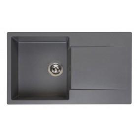 Мойка кухонная Reginox Amsterdam 10 86 x 50 см R30936 Grey
