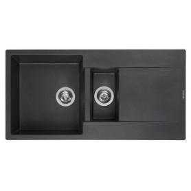 Мойка кухонная Reginox Amsterdam 15 100 x 50 см R30967 Black