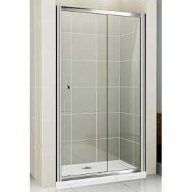 Душевая дверь Cezares Pratico BF-100 см. стекло прозрачное, раздвижная