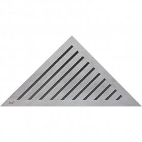Решетка водосточная треугольная Alca Plast Grace