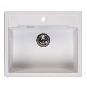 Мойка кухонная Reginox Amsterdam 54 50 x 46 см R31032 Pure White