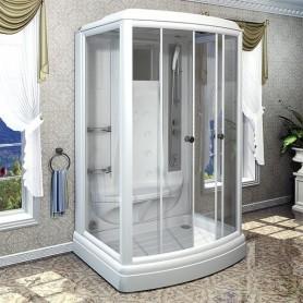 Душевая кабина Radomir Диана-3 140 х 108 см с гидромассажем и