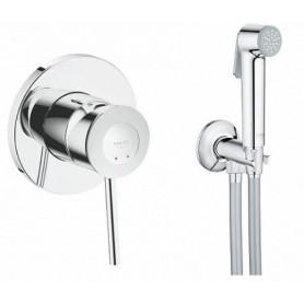 Гигиенический душ со смесителем Grohe BauClassic 124902 комплект