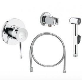 Гигиенический душ со смесителем Grohe BauClassic 124434 комплект