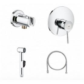 Гигиенический душ со смесителем Grohe BauClassic 124901 комплект
