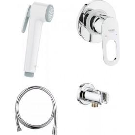 Гигиенический душ со смесителем Grohe BauLoop 124896 комплект
