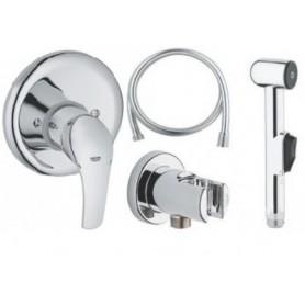 Гигиенический душ со смесителем Grohe Eurosmart комплект