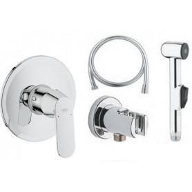 Гигиенический душ со смесителем Grohe Eurosmart Cosmopolitan комплект