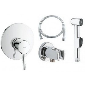 Гигиенический душ со смесителем Grohe Concetto комплект