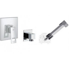 Гигиенический душ со смесителем Grohe Eurocube комплект