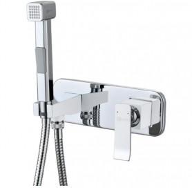 Гигиенический душ Lemark Contest LM5819CW со смесителем