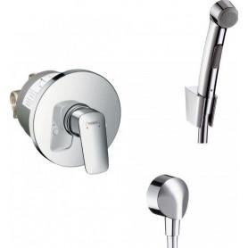 Гигиенический душ Hansgrohe Logis (71606000/32129000/27454000/13620180)