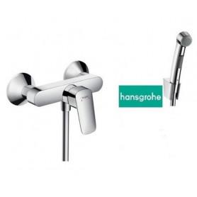 Гигиенический душ со смесителем Grohe Hansgrohe Logis NEW (настенный монтаж)