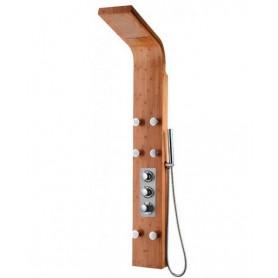 Душевая панель с термостатом GPD DSP06 из массива бамбука
