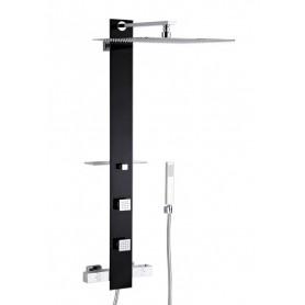 Душевая панель с гидромассажем Valentin Tower 525400 цвет чёрный