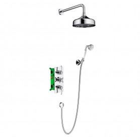 Душевая система скрытого монтажа Timo Nelson SX-1390/00SM с термостатом цвет хром