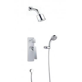 Душевая система скрытого монтажа Timo Helmi SX-4059/00-16SM цвет белый / хром