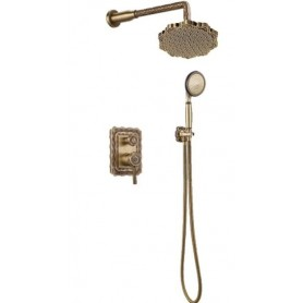 Душевая система скрытого монтажа Bronze de Luxe 10138F цвет бронза
