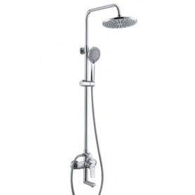 Душевая стойка с изливом WasserKraft A16601 цвет хром