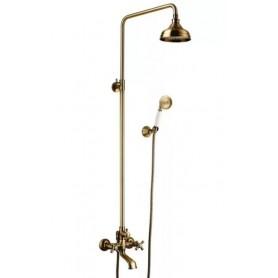 Душевая стойка с изливом Lemark Vintage LM2862B цвет бронза