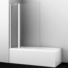 Шторка стеклянная Wasser kraft Berkel 48P02-110white профиль