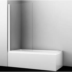 Шторка стеклянная Wasser kraft Berkel 48P01-80White профиль